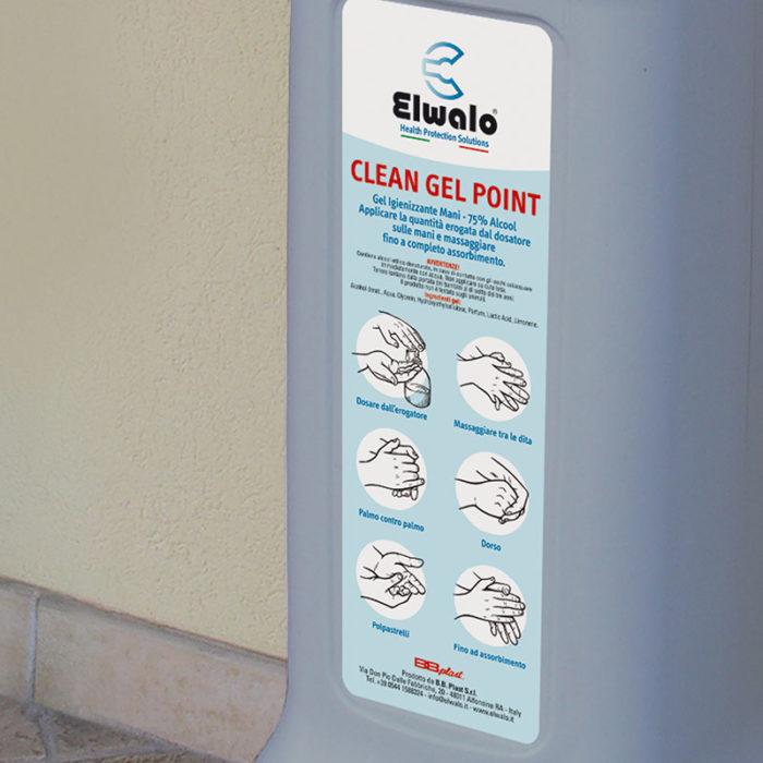gel detergente dispenser