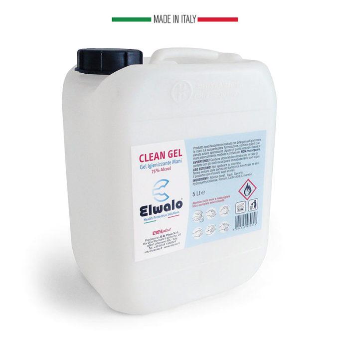 tanica 5 lt. gel detergente